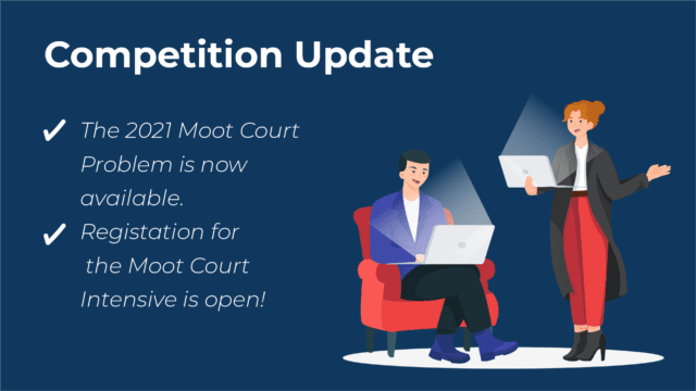 2021 Moot Court Problem and Moot Court Intensive Announcement